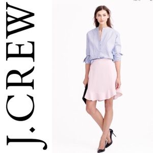 J. Crew Swing Skirt Blush